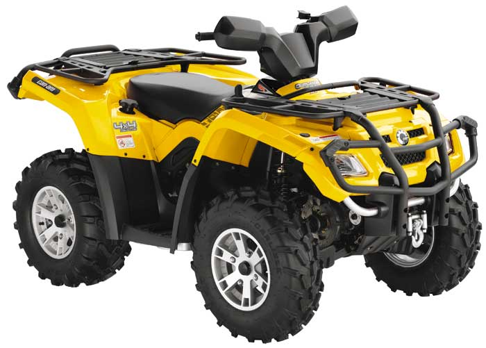 can am outlander efi xt
