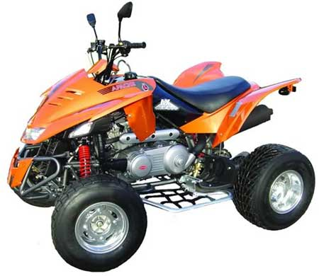 apache quad bike